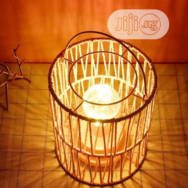 Plastic Metal Bird Cage Night Lamp   Home Accessories for sale in Lagos Island, Lagos State, Nigeria