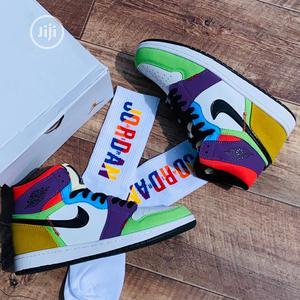 Original Nike Air Jordan 1 Colorway Low Sneakers Available | Shoes for sale in Lagos State, Surulere