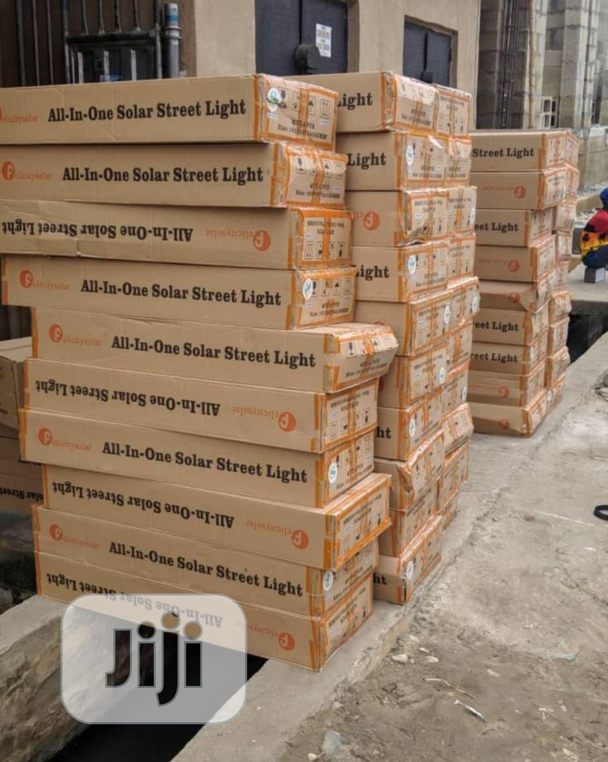 Archive: 100watts All In One Street Lights