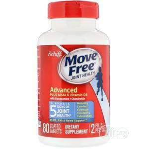 Schiff, Move Free, Joint Health, 80 Coated Tablets | Vitamins & Supplements for sale in Lagos State, Ojo
