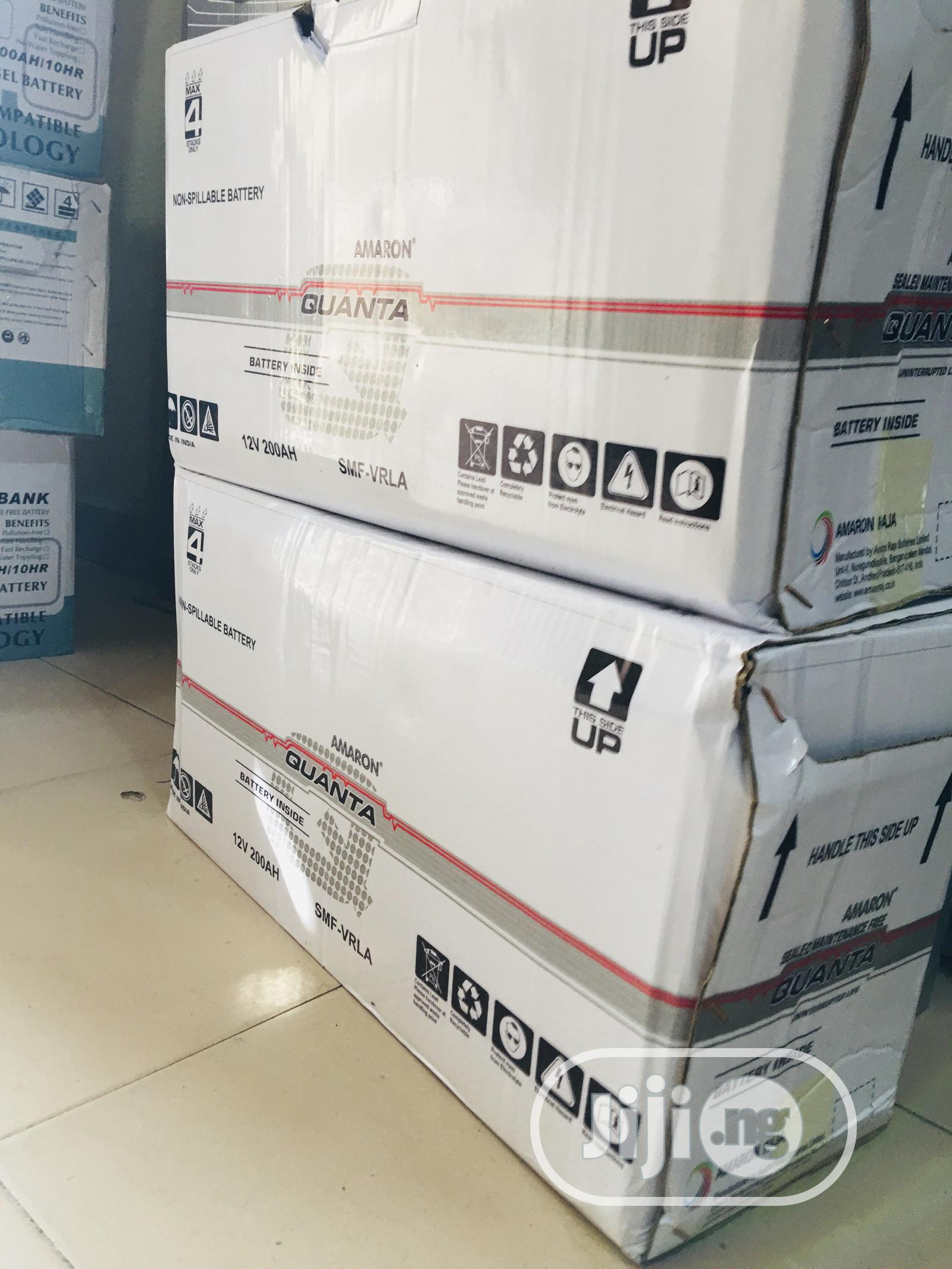 200ah 12v Quanta Battery | Solar Energy for sale in Lagos Island, Lagos State, Nigeria
