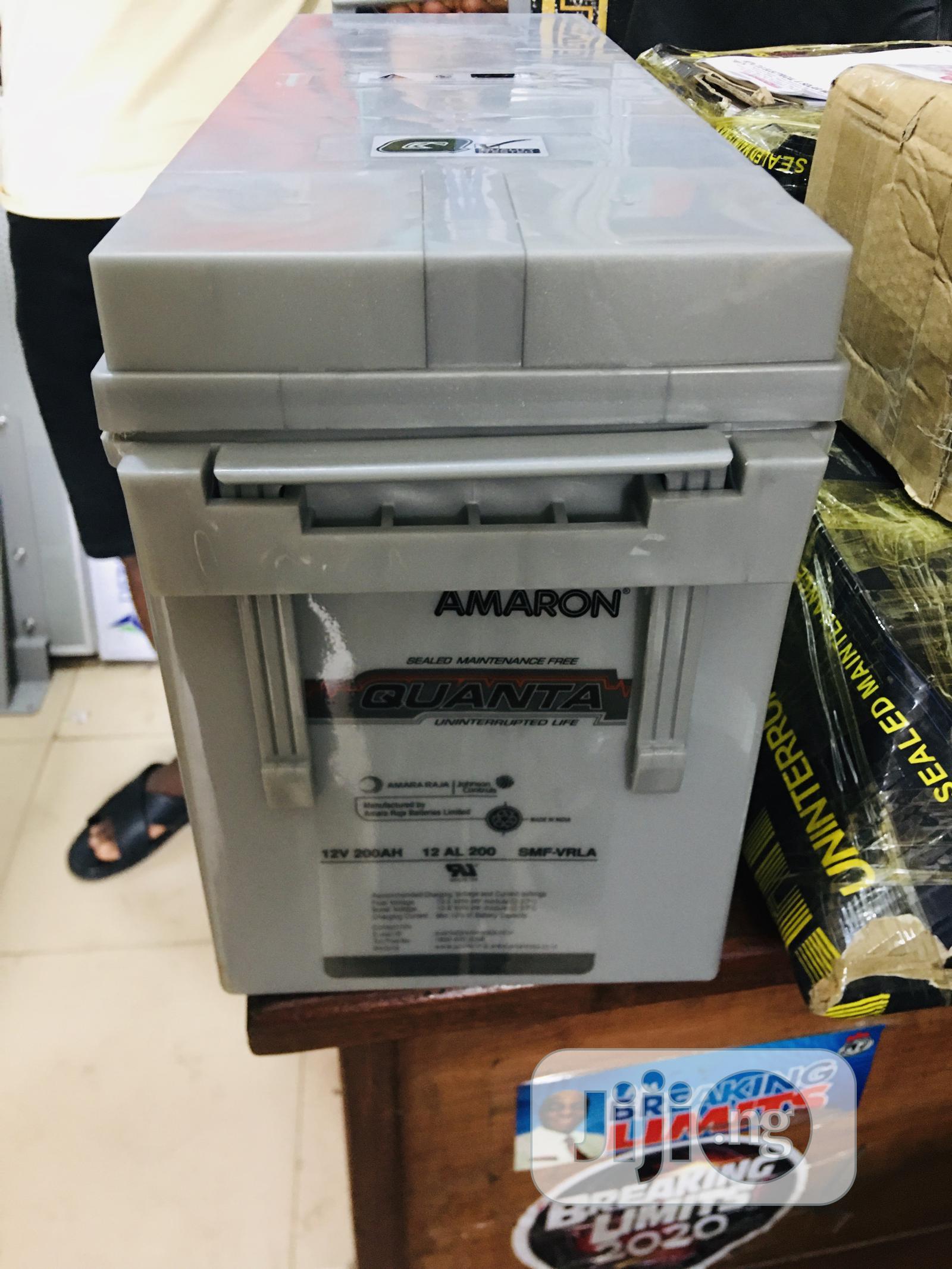 Archive: 200ah 12v Amaron Quanta Battery