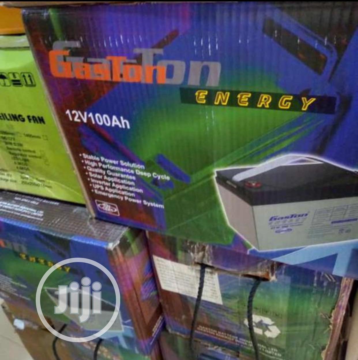 Archive: 100ah 12v Gaston Battery