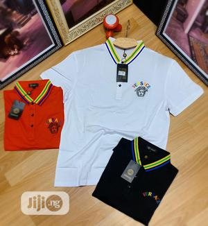 Authentic Versace Polo Shirts   Clothing for sale in Lagos State, Alimosho