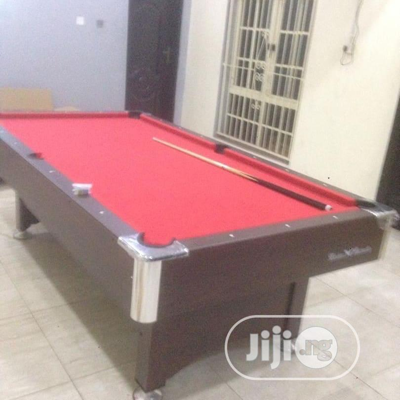 New Coin Operated Snooker Board