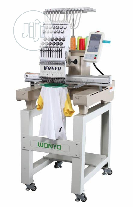 Digital Monogramming Machine