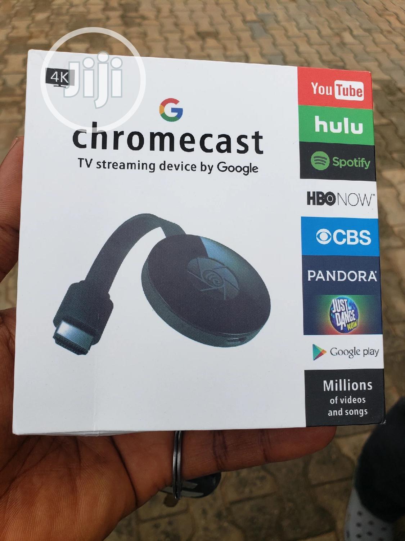 Chromecast Tv Streaming Device By Google