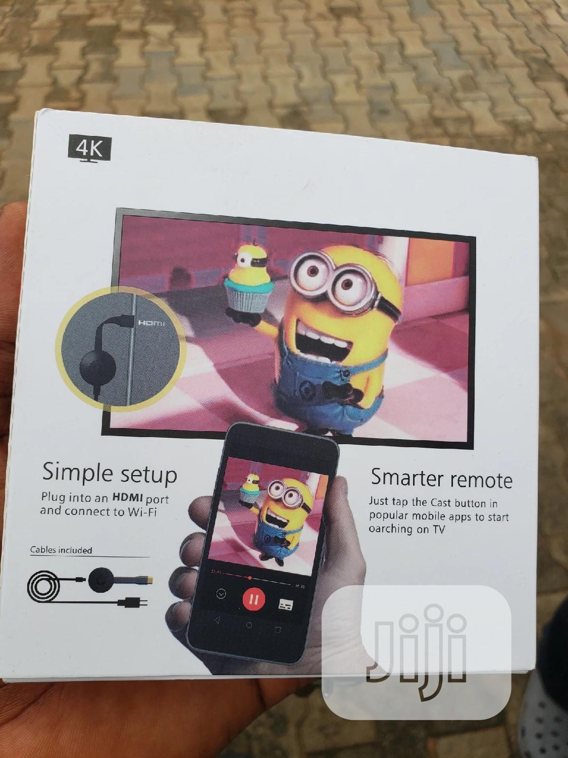 Chromecast Tv Streaming Device By Google | Accessories & Supplies for Electronics for sale in Ikeja, Lagos State, Nigeria