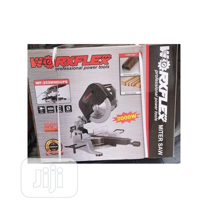 Electric Miter Saw Cutting Machine 10inch Worxflex-2000watts