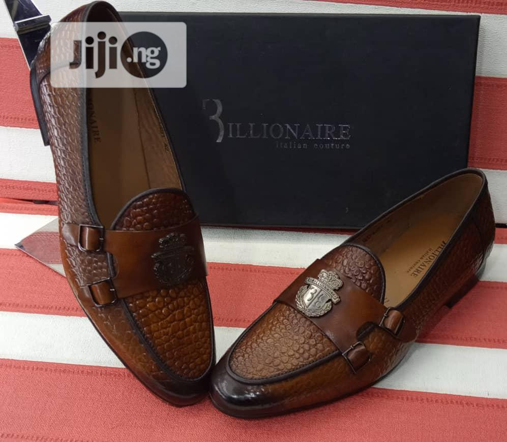 Quality Mens Mock Strap Black And Brown | Shoes for sale in Lagos Island (Eko), Lagos State, Nigeria