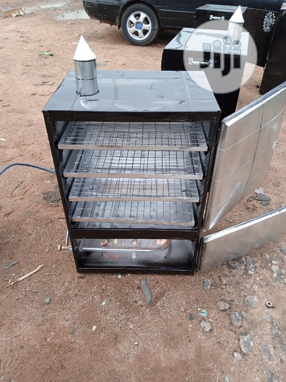 Easytech Charcoal And Gas Fish Dryer Oven Enterprises