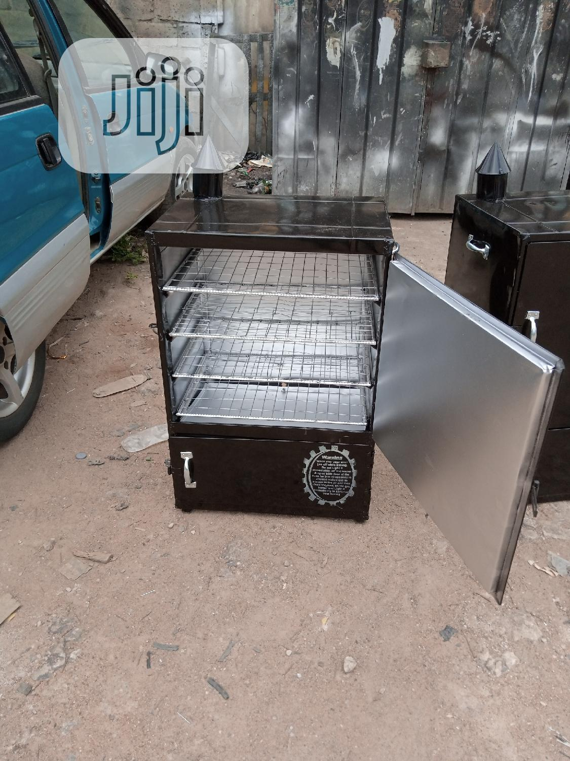Easytech Charcoal And Gas Fish Dryer Oven Enterprises | Industrial Ovens for sale in Ikeja, Lagos State, Nigeria