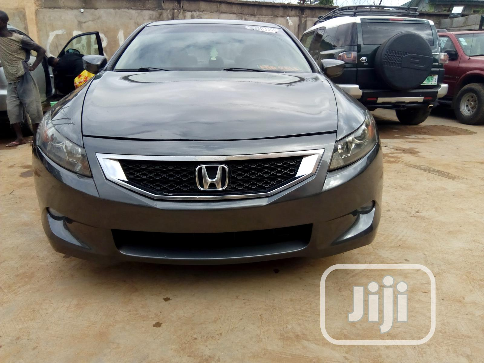 Archive: Honda Accord 2008 Coupe 2.4 EX Automatic Gray