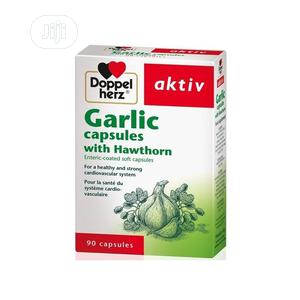 Doppelherz Aktiv Garlic Capsules With Hawthorn (Blood Circul | Vitamins & Supplements for sale in Lagos State, Ojo