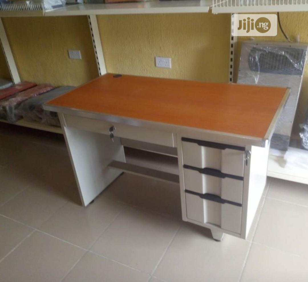 Original Imported Metal Office Table