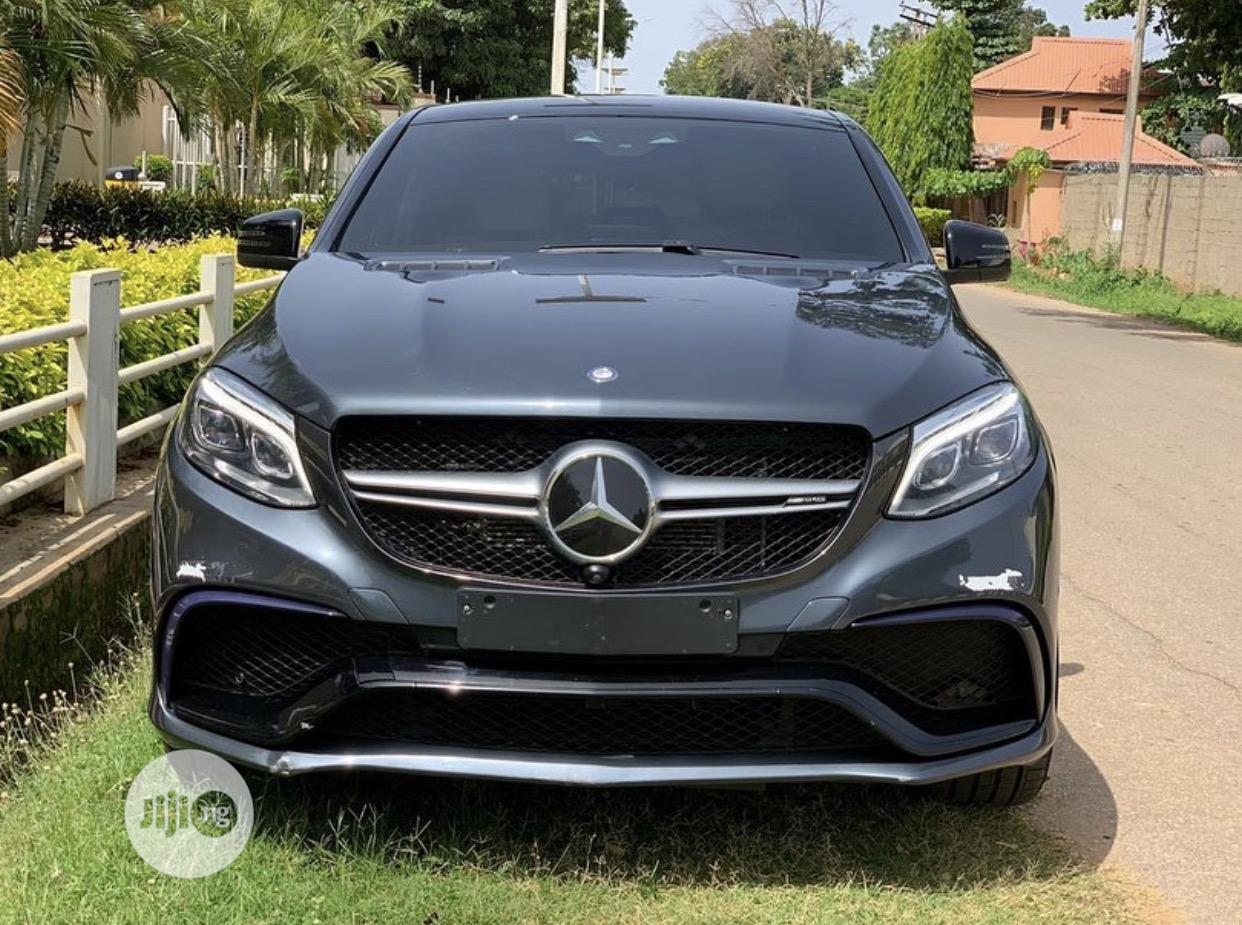 Mercedes-Benz GLE-Class 2018 Gray | Cars for sale in Central Business Dis, Abuja (FCT) State, Nigeria