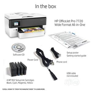 HP Officejet Pro 7720 (Wide Format) | Printers & Scanners for sale in Abuja (FCT) State, Wuse 2