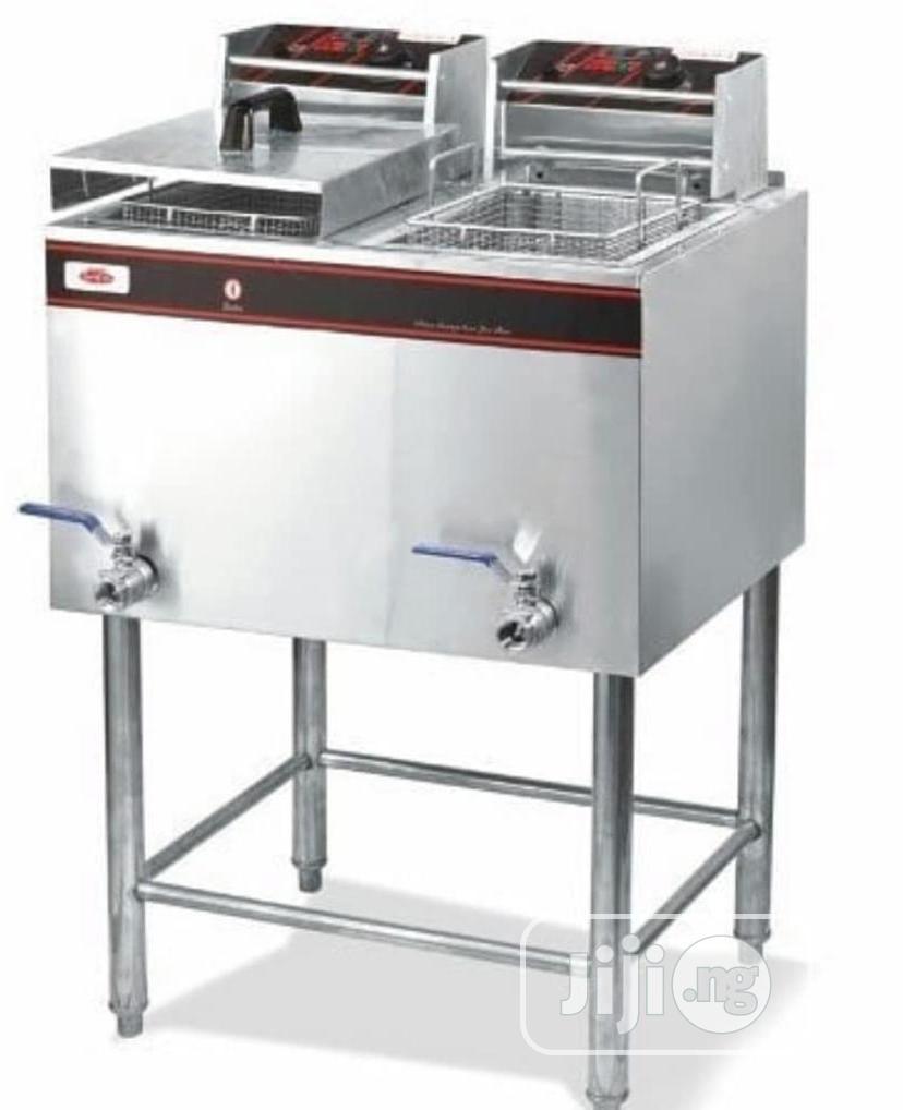 Standing Deep Gas Fryer