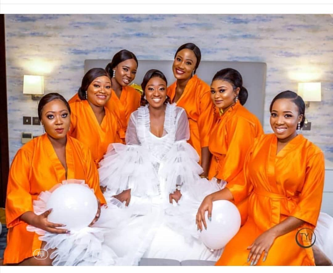 Archive Bridal Shower Robes In Agege Wedding Wear Accessories Gc Wab Clothings Jiji Ng