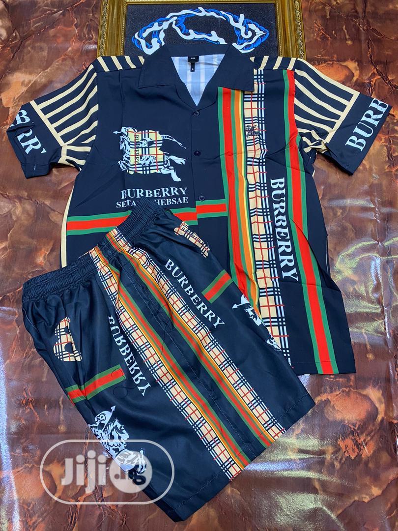 Designer Shorts And Shirt