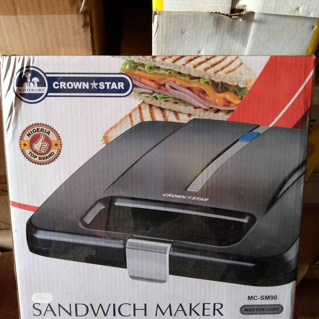 Archive: Sandwich Maker/Toaster
