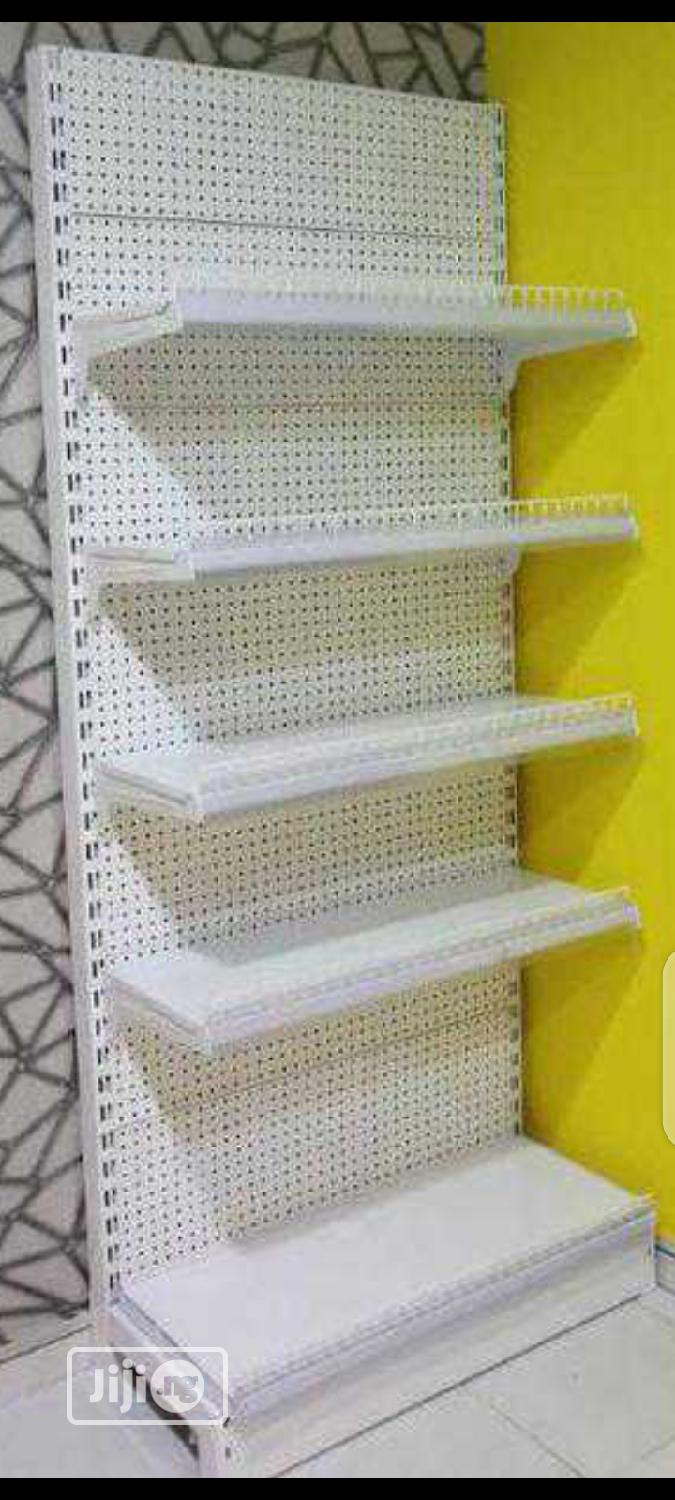 Single Sided Supermarket Shelving 7fts | Store Equipment for sale in Ikorodu, Lagos State, Nigeria