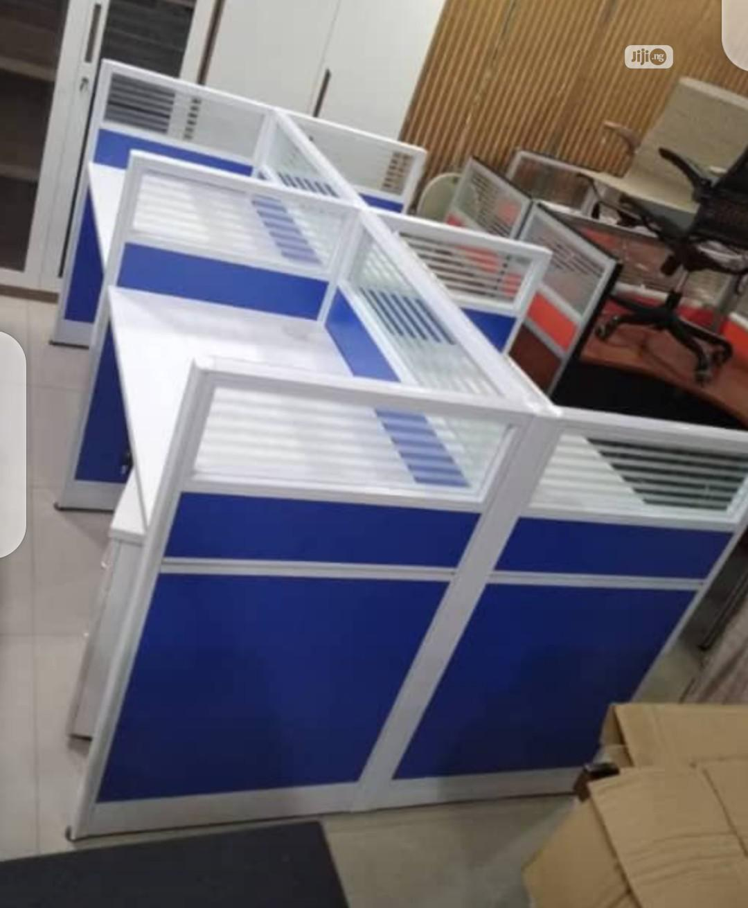 Workstation For Four People