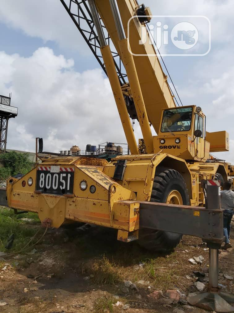 75tons Grove Crane With LMI System 1998