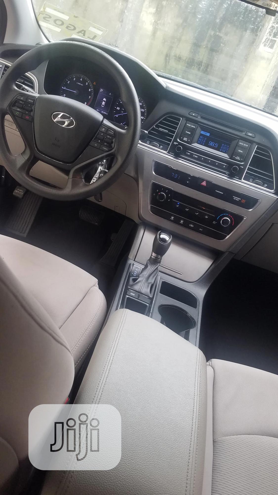 Hyundai Sonata 2016 Silver   Cars for sale in Ajah, Lagos State, Nigeria