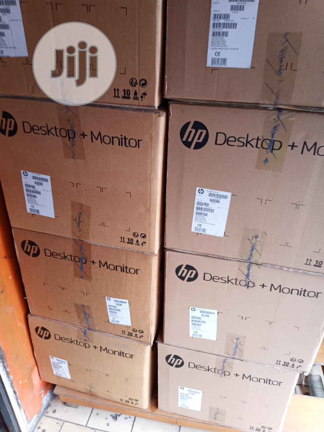 New Desktop Computer HP 8GB Intel Core i3 HDD 500GB | Laptops & Computers for sale in Ikeja, Lagos State, Nigeria