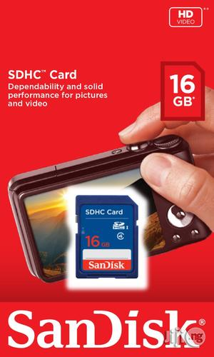Sandisk SDHC Memory Card 16gb | Accessories for Mobile Phones & Tablets for sale in Lagos State, Ikeja