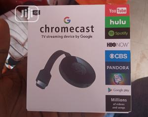 Chromecast Tv Streaming Device By Google   Accessories & Supplies for Electronics for sale in Lagos State, Ikeja