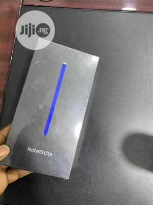 New Samsung Galaxy Note 10 Lite 128 GB Silver   Mobile Phones for sale in Lagos State, Ikeja