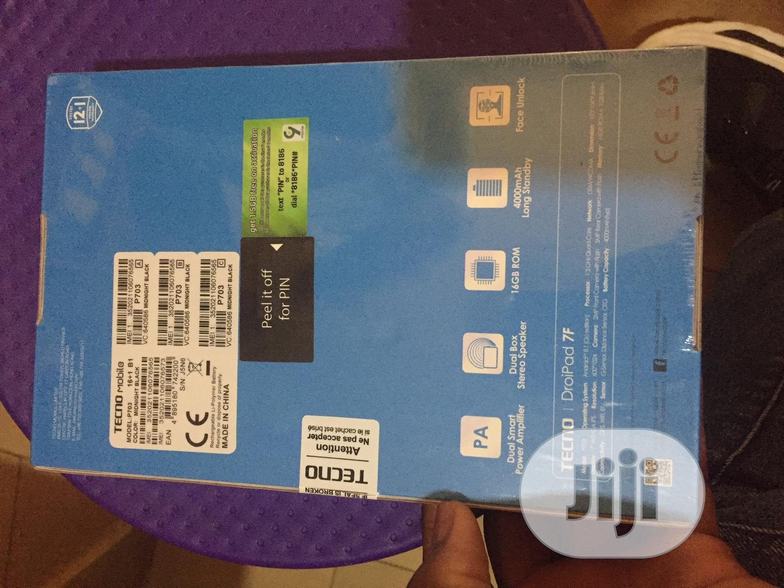 New Tecno DroiPad 7E 16 GB   Tablets for sale in Wuse, Abuja (FCT) State, Nigeria