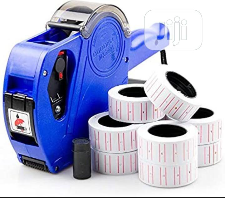 Price Label Tag Machine & Papper | Store Equipment for sale in Ikeja, Lagos State, Nigeria