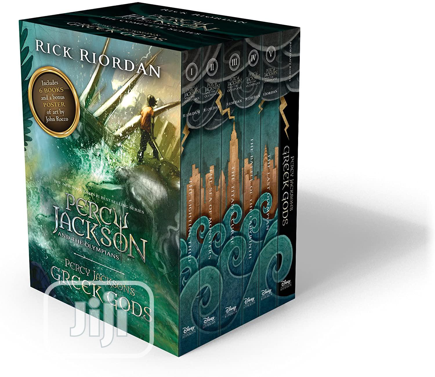 Percy Jackson And The Olympians 6 Book Set