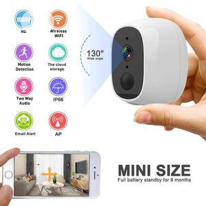 Rechargeable Wi-Fi Smart HD Motion Recording Camera | Security & Surveillance for sale in Lagos State, Ikeja