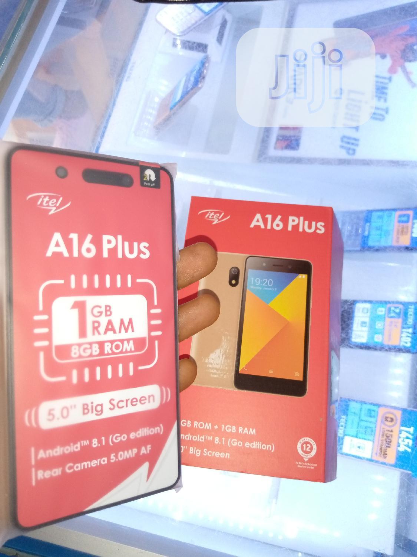 New Itel A16 Plus 8 GB Gold