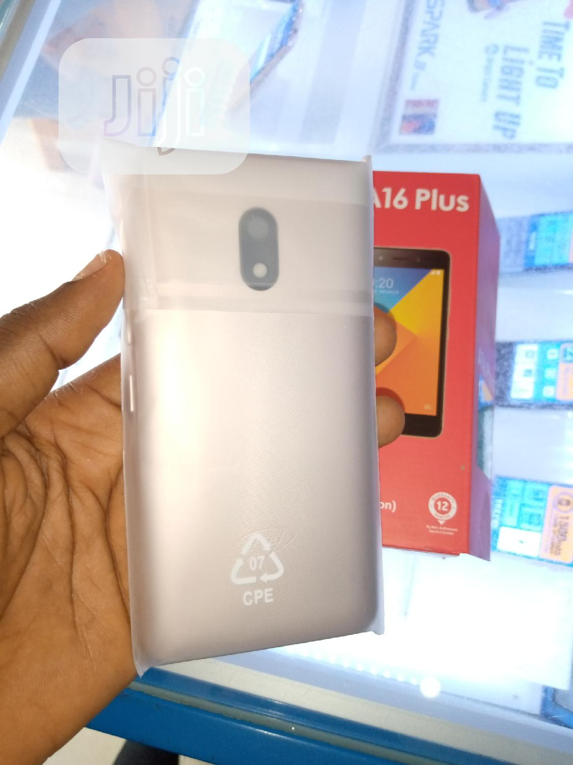 New Itel A16 Plus 8 GB Gold   Mobile Phones for sale in Ikeja, Lagos State, Nigeria