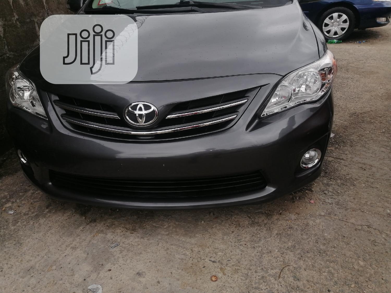 Toyota Corolla 2013 Gray