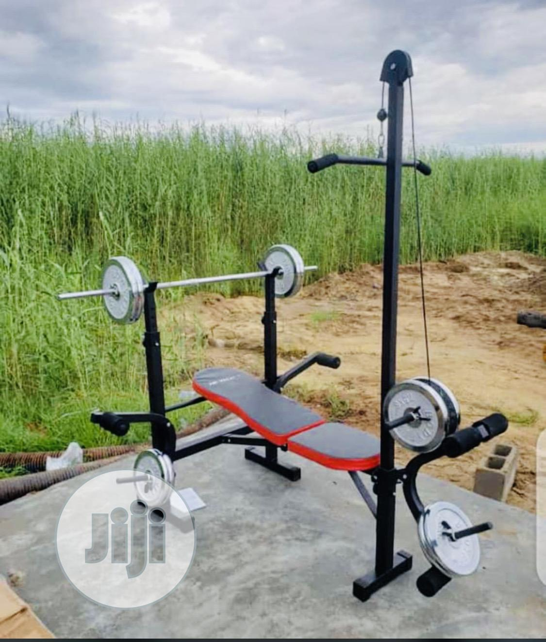 Weight Bench With Pull And 50kg
