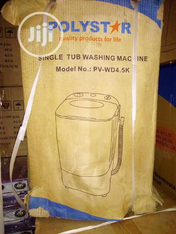 Polystar PV-WD4.5K Single Tub Washing Machine