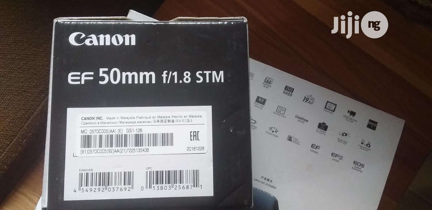 Canon 7D+ 50mm Canon Lens   Accessories & Supplies for Electronics for sale in Alimosho, Lagos State, Nigeria