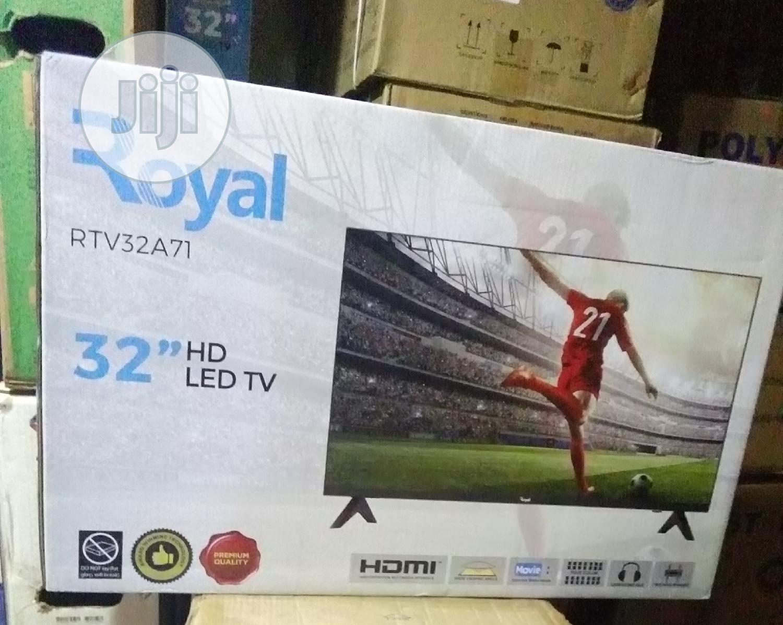 """Royal Rtv32a71 32"""" HD LED TV"""