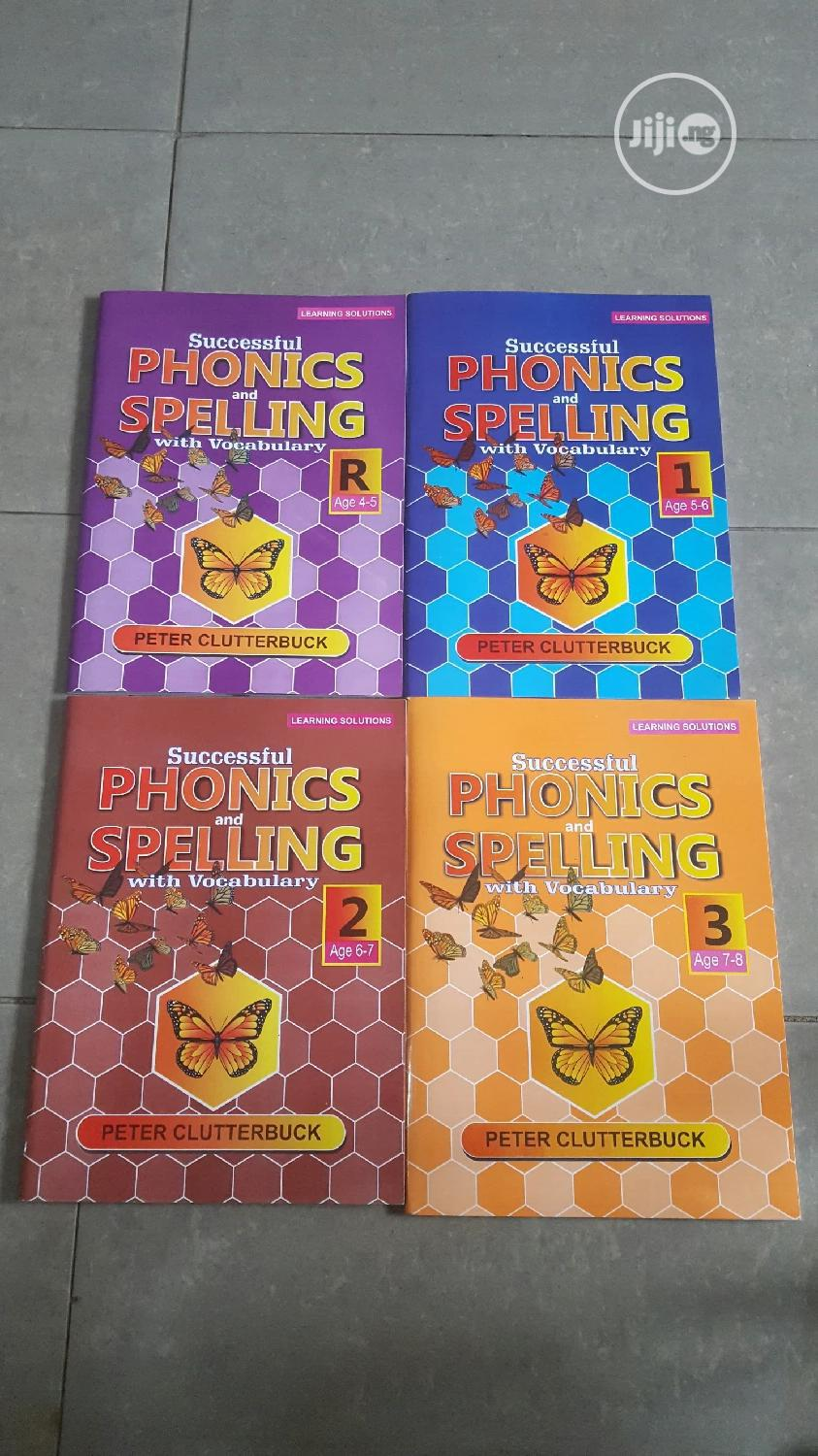 Phonics And Spellings With Vocabulary