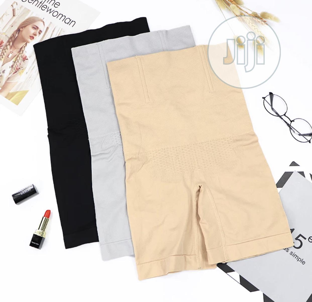 Archive: Women High Waist Body Shape Wear/Trainer/Girdle- Black
