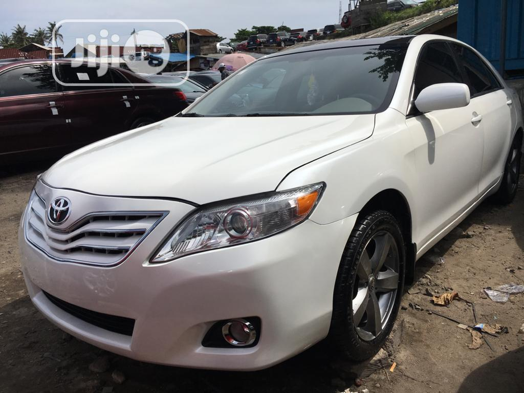 Toyota Camry 2008 2.4 LE White