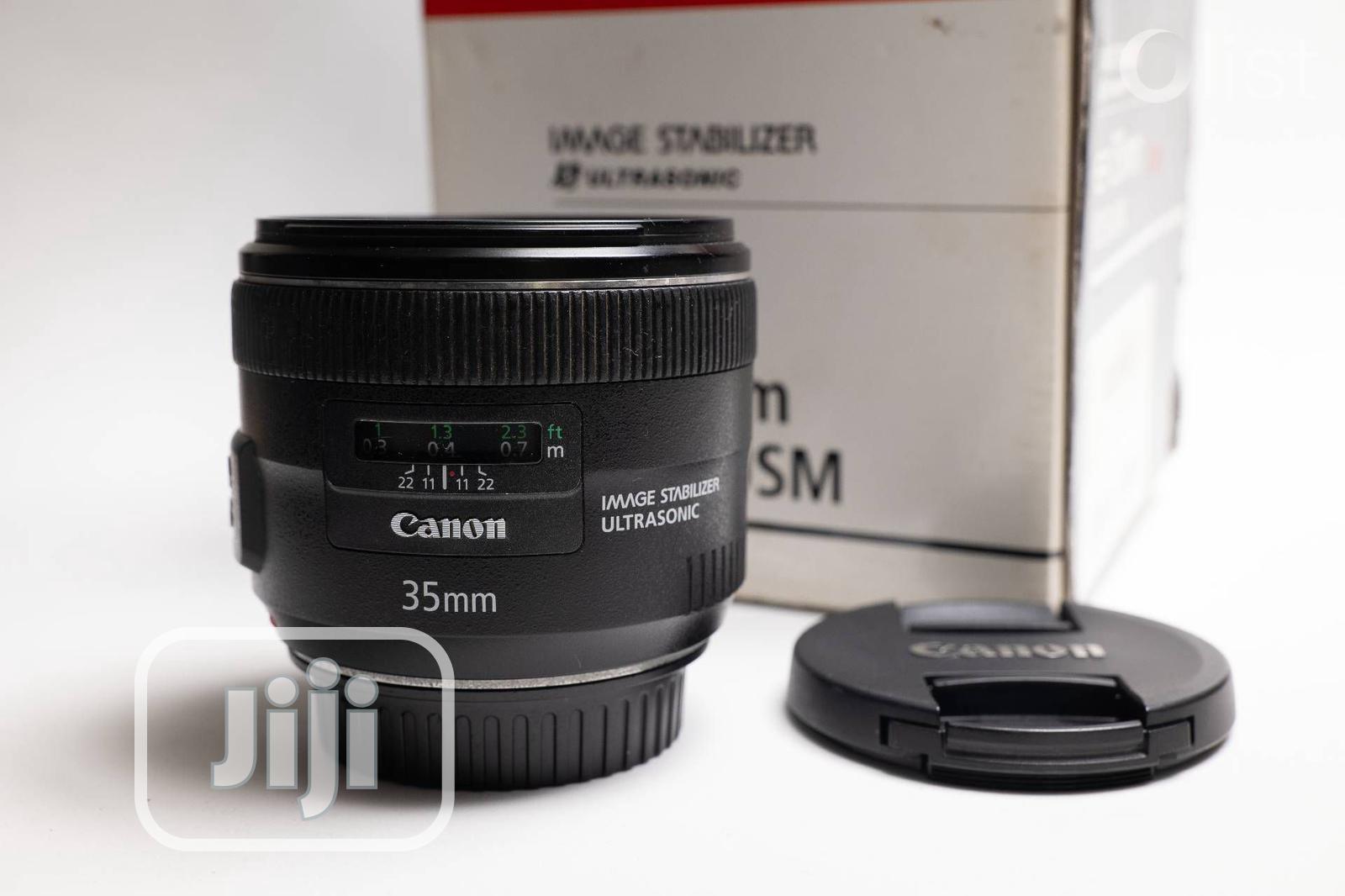 Canon EF 35mm F2 IS USM Used Full Frame Lens For SALE