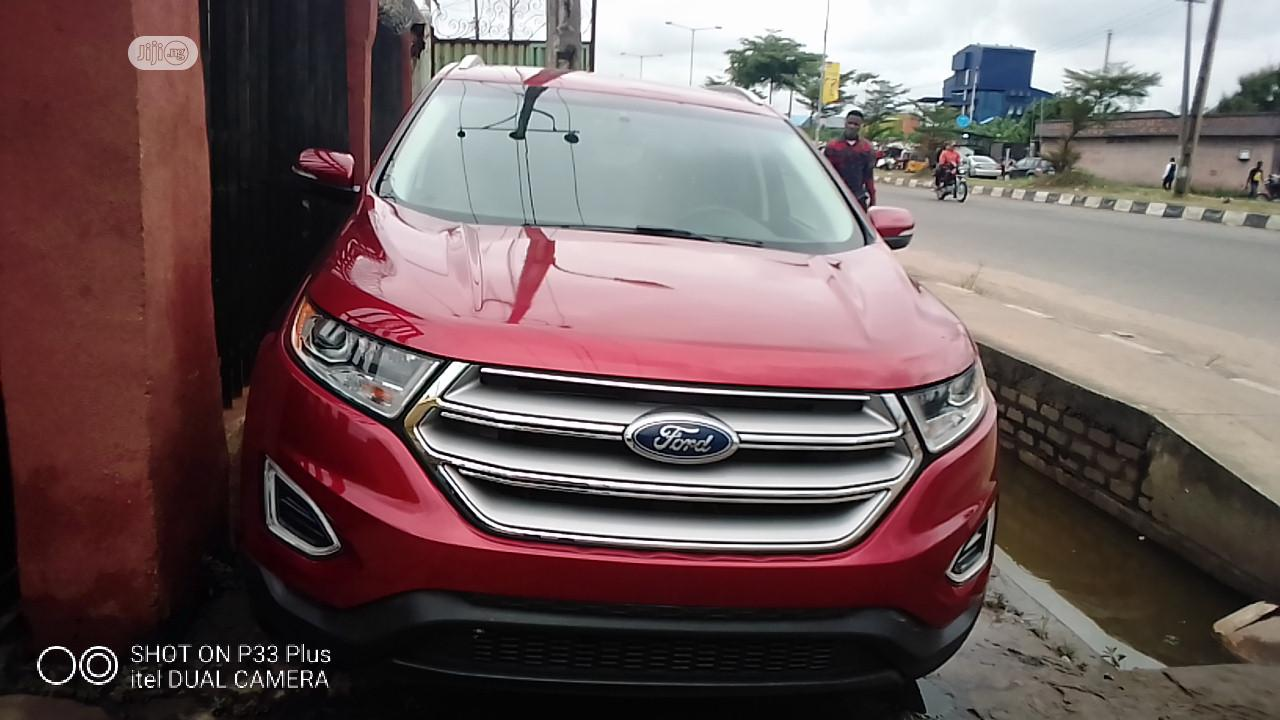 Ford Edge 2018 Titanium AWD Red