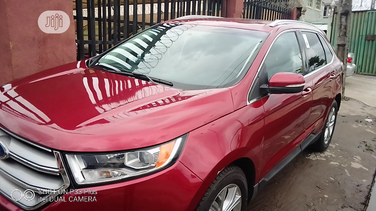 Ford Edge 2018 Titanium AWD Red | Cars for sale in Amuwo-Odofin, Lagos State, Nigeria